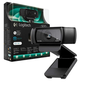 Camera Webcam Fullhd Logitech C920 Nova Com Nota Fiscal