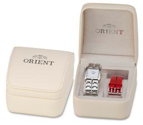 Kit Relógio Orient Feminino Prateado Lbss0078b1vx