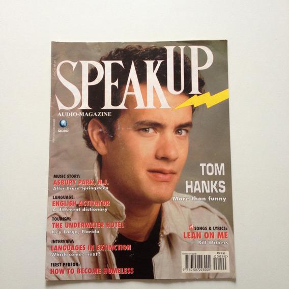 Revista Speakup Magazine Tom Hanks More Than Funny F869