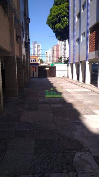 Kitnet Com 1 Dormitório Para Alugar, 52 M² Por R$ 800,00/mês - Madalena - Recife/pe - Kn0009