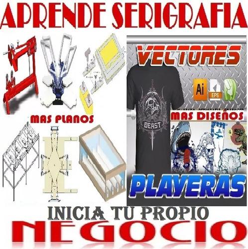 Vectores Impresión Playeras Franelas Serigrafia Estampados