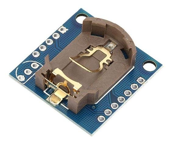 Relógio Tempo Real Rtc Ds1307 Com Bateria P/ Arduino Pic