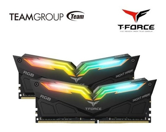 16gb 2x8gb Ddr4 3000mhz Night Hawk