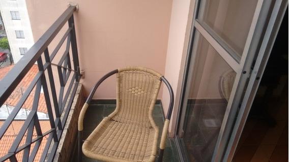 Apartamento Em Jardim Monte Alegre, Taboão Da Serra/sp De 55m² 2 Quartos À Venda Por R$ 200.000,00 - Ap394409