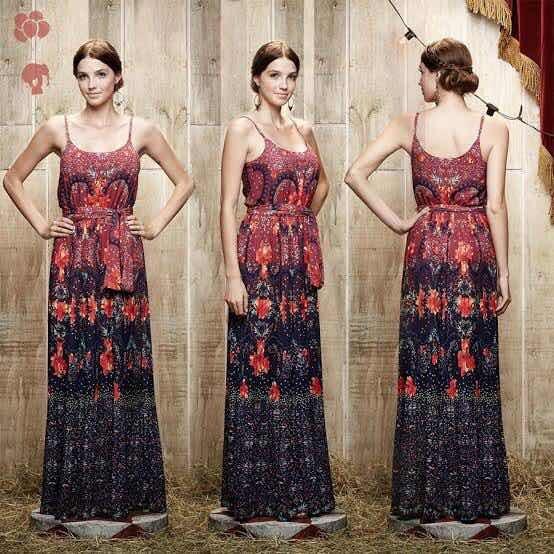 Vestido Dália Antix (carola E Sua Cartola) - P