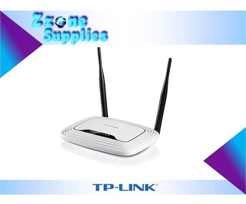 Imagen 1 de 4 de Router Inalámbrico Tp-link Tlwr841nd 300mbps 2 Antenas