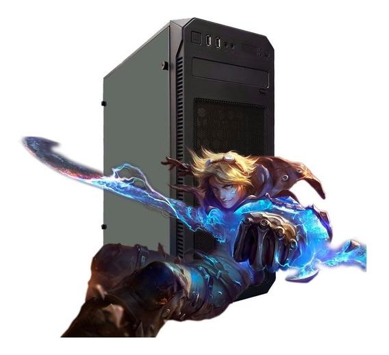 Pc Gamer Intel Core 2 Quad 4gb Hd 500gb Hdmi Dvi Vga + Wifi