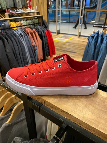 Zapatilla Captain Fin Hustler Red