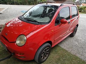 Chery Qq 1.1 Gas. 2011 - 37000 Km Com Towbar Para Motorhome