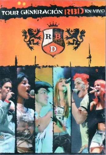 Dvd Rebelde - Tour Generación Rbd En Vivo