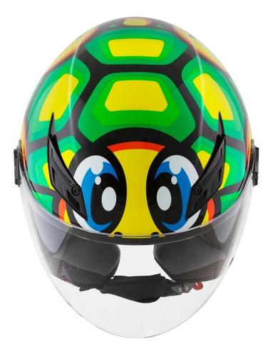 Capacete Aberto Agv Blade Turtle Valentino Rossi Ds Moto