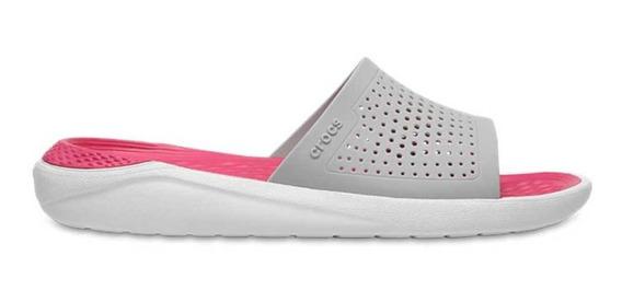 Crocs Originales Literide Slide Unisex Hombre Mujer