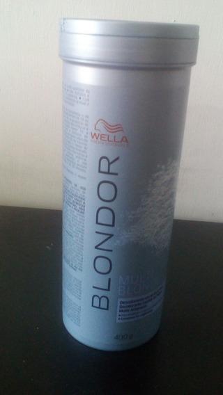 Decolorante Capilar En Polvo Blondor De Wella