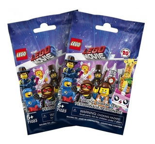 Blister 2 Mini Figuras Lego Movie 2 - Lego Original Nuevo