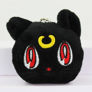 Peluche Sailor Moon Luna Super Cute Tierno Llavero Gato