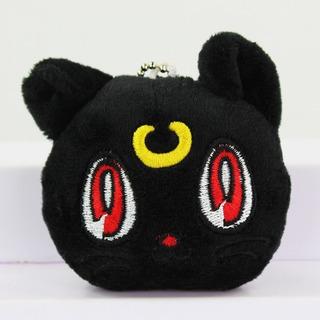 Peluche Sailor Moon Luna Super Cute Tierno Llavero Gato