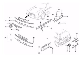 Catálogo Peças Volkswagen Golf Mk3 1.8 2.0 Ano 1994 Ate 1998