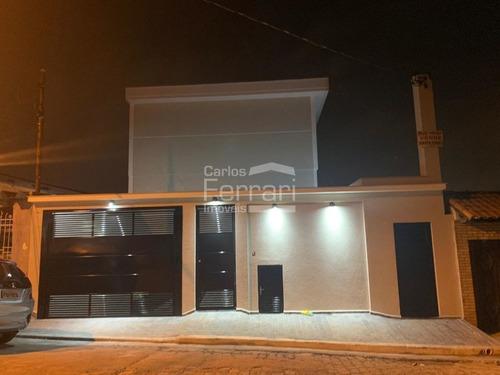 Sobrado Novo Em Condomínio Com Piscina, Vila Nova Mazzei - Cf20936