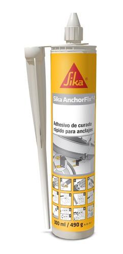 Imagen 1 de 6 de Sika Anchorfix 1  Adhesivo Para Anclajes 300ml