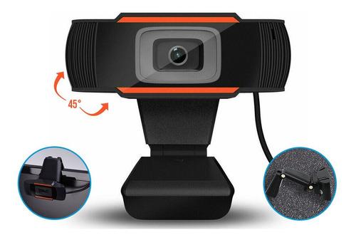 Imagen 1 de 7 de Camara Web Webcam Hd Wc720p Usb Microfono Zoom Skype Meet