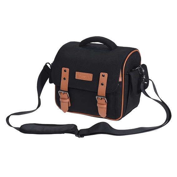 Dslr Slr Camera Shoulder Messenger Bag Caso  Prova De