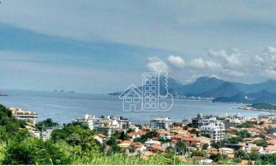Terreno Residencial À Venda, Camboinhas, Niterói. - Te0041