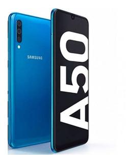 Samsung A50 - 64gb 4gb Ram + Sd Card 64gb + Vidrio Templado Glass Envio Gratis