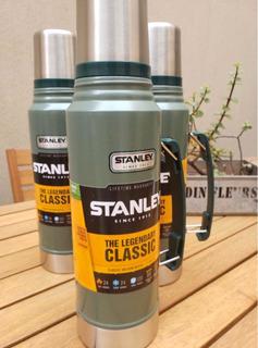 Termo Stanley Legendario Clásico 1 Litro Acero Inoxidable