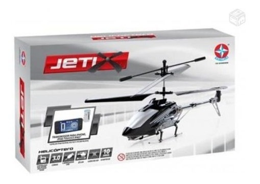 Helicóptero Jetix - Estrela Na Caixa + Acessórios