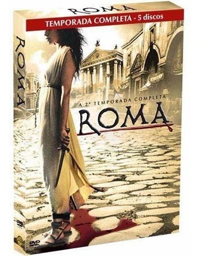 Série Roma, Segunda Temp Completa, Box 5 Dvds, Novo, Lacrado