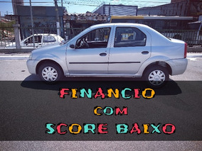 Renault Logan Financiamento Com Score Baixo Entrada Só 2000