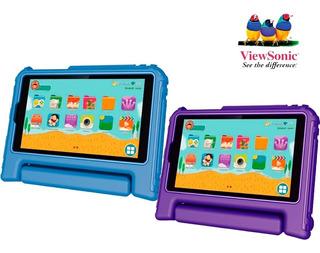 Tablet Viewsonic 7 Viewpad Kids Android 7- 8 Gb Funda Antigolpe Shark Mza