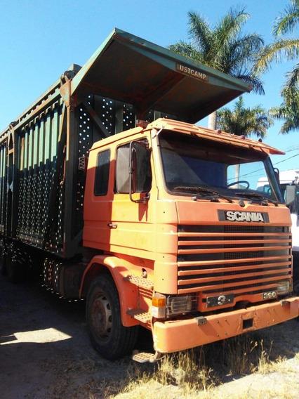 Caminhão Scania 113 360 6x4 Cab. Leito + Equip. Canavieira