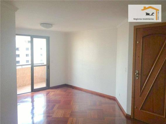 Apartamento Com 3 Dormitórios, 98 M² - Venda Por R$ 630.000 E Locação Por R$ 2.200/mês - Jardim Avelino - São Paulo/sp - Ap0043