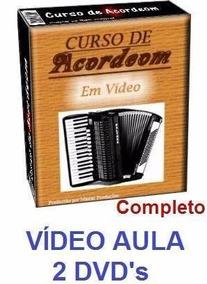 Curso De Acordeon Sanfona Em 2 Dvds Tyu