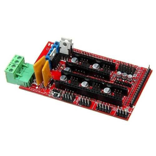 Kit 1 X Placa Ramps 1.4 Reprap I + 4 Drivers A4988