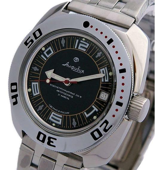 Reloj Vostok Amphibian Ruso Automático Diver 200m