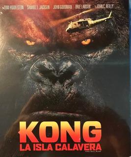 Kong La Isla Calavera (2017) Skull Island Blu-ray Original