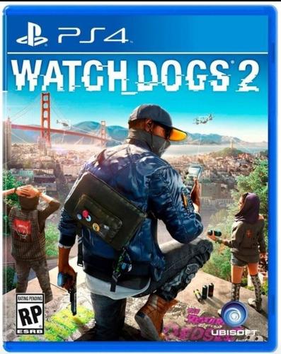 Imagen 1 de 2 de Watch Dogs 2 Ps4 Fisico Sellado Original Ade Ramos