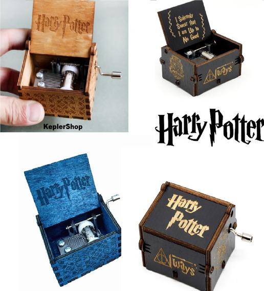1caixinha De Música Harry Potter Com O Tema Do Filme À Vista