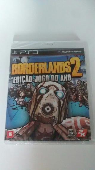 Borderlands 2 Edição Jogo Do Ano Ps3