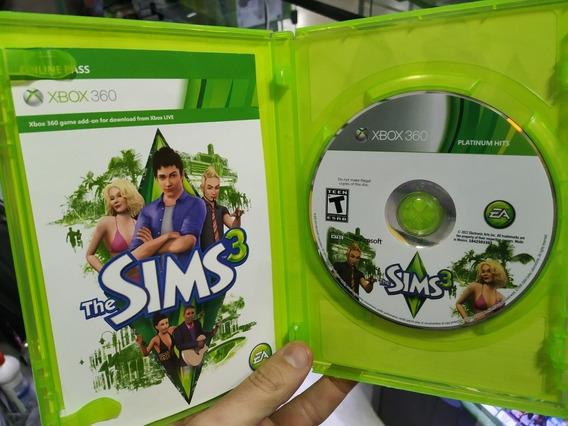 The Sims 3 Xbox 360 Mídia Física Semi Novo Zerado