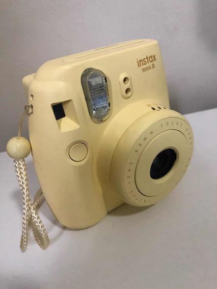 Câmera Instantânea Fujifilm Instax Mini 8 Amarela
