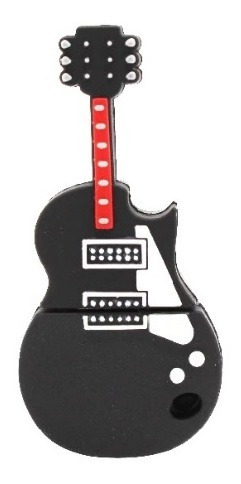 Pen Drive 4g Guitarra Violão Music Moonlight Preto