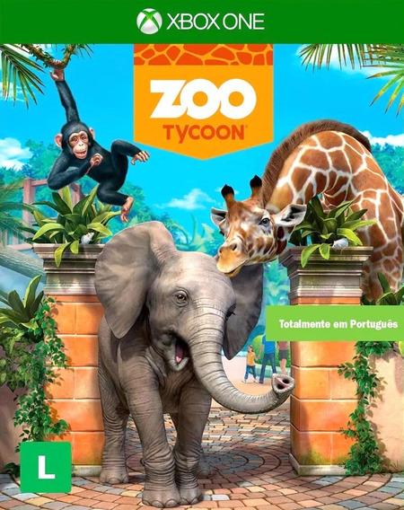 Zoo Tycoon Xbox One Mídia Física Português Br Lacrado Loja