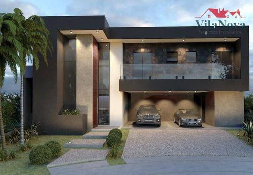 Casa Com 4 Dormitórios À Venda, 300 M² Por R$ 2.000.000,00 - Maria José - Indaiatuba/sp - Ca1922