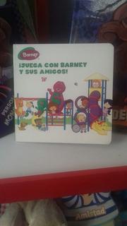 Libro Acartonado: ¡juega Con Barney Y Sus Amigos!