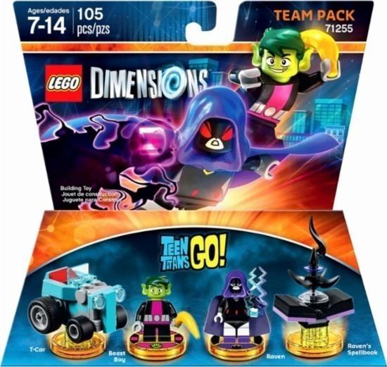 Lego Dimensions Teen Titans Go Team Pack Ps3 Ps4 Xbox