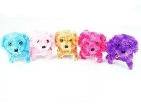 Juguete Perro Varios Colores Ladra Y Camina
