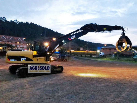 Escavadeira Hidráulica 320 Fm Ano 2012